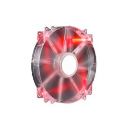 Cooler Master MegaFlow 200 Red LED Lüfter 200x30mm Bild0