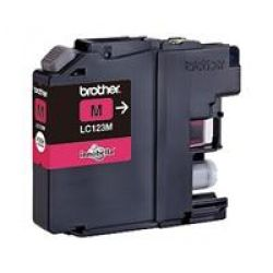 Brother LC-123M Original Druckerpatrone Magenta Bild0