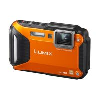Panasonic Lumix DMC-FT5 Unterwasserkamera orange