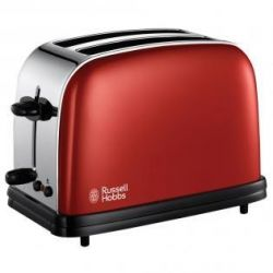 Russell Hobbs Colours Flame Red 18951-56 Toaster Bild0