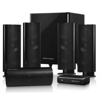 Harman Kardon HKTS 65BQ 5.1 System mit wireless-Subwoofer schwarz
