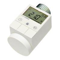 HomeMatic 105155 HM-CC-RT-DN Funk-Heizkörperthermostat Stellantrieb