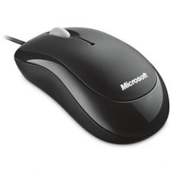Microsoft Basic Optical Mouse USB Schwarz Bild0
