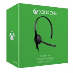 Microsoft Xbox One Wired Chat Headset Bild0