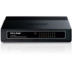 TP-LINK TL-SF1016D 16x Port Desktop Switch Bild0
