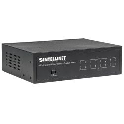 Intellinet 8-Port PoE+ Gigabit Switch mit PoE Passthrough 60W Bild0