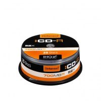 Intenso 52x CD-R 80Min 700MB 25er Spindel