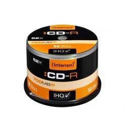Intenso 52x CD-R 80Min 700MB 50er Spindel Bild0