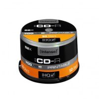Intenso 52x CD-R Printable 80Min 700MB 50er Spindel