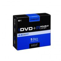 Intenso 8x DVD+R Double Layer 8,5GB 5er Jewel Case