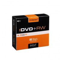 Intenso 4x DVD+RW 4,7GB 10er Slim Case