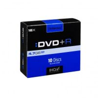 Intenso 16x DVD+R 4,7GB 10er Slim Case