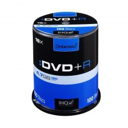 Intenso 16x DVD+R 4,7GB 100er Spindel Bild0