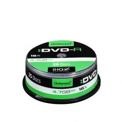 Intenso 16x DVD-R 4,7GB 25er Spindel  Bild0