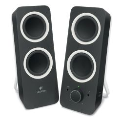 Logitech Z200 Multimedia Soundsystem 3,5mm Klinke Bild0