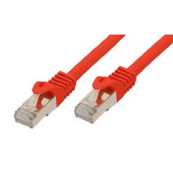 Good Connections Patchkabel mit Cat. 7 Rohkabel S/FTP rot 0,25m Bild0