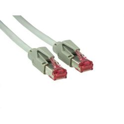 Good Connections Patch Netzwerkkabel Cat. 6 S/FTP Hirose-Stecker grau 1,5m Bild0