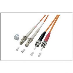 Good Connections Patchkabel LWL Duplex OM1 LC/ST Multimode 2m Bild0