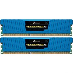 8GB (2x4GB) Corsair Vengeance Low DDR3-1600 CL9 RAM Low Profile Blau - Kit Bild0