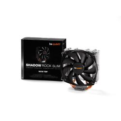 be quiet! Shadow Rock Slim 775/115X/1366/2011/AM2(+)/AM3(+)/FM1/FM2+ CPU Kühler Bild0
