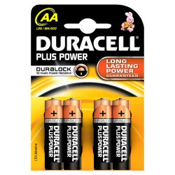 DURACELL Plus Power Batterie Mignon AA LR6 4er Blister Bild0