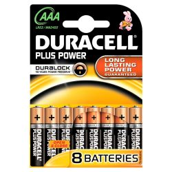 DURACELL Plus Power Batterie Micro AAA LR3 8er Blister Bild0