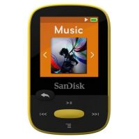 SanDisk Clip Sport MP3 Player 4GB gelb