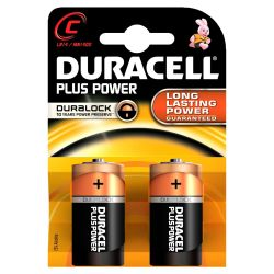 DURACELL Plus Power Batterie Baby C LR14 2er Blister Bild0