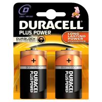 DURACELL Plus Power Batterie Mono D LR20 2er Blister