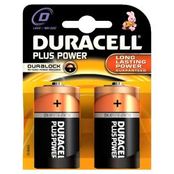DURACELL Plus Power Batterie Mono D LR20 2er Blister Bild0