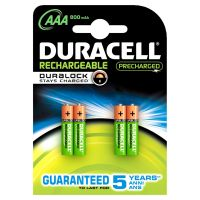 DURACELL StayCharged Akku Micro AAA HR3 4er Blister