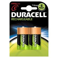 DURACELL Rechargeable Akku Baby C HR14 2er Blister
