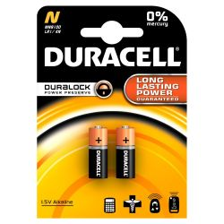 DURACELL Security Batterie Lady N LR1 2er Blister Bild0