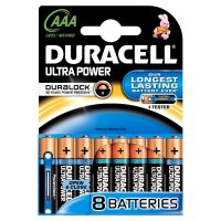 DURACELL Ultra Power Batterie Micro AAA LR3 8er Blister