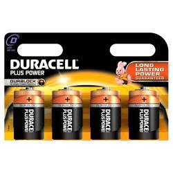 DURACELL Plus Power Batterie Mono D LR20 4er Blister Bild0