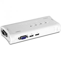 TRENDnet 4-Port USB KVM Switch Kit   Bild0