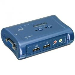 TRENDnet 2-Port USB KVM Switch Kit Audio   Bild0