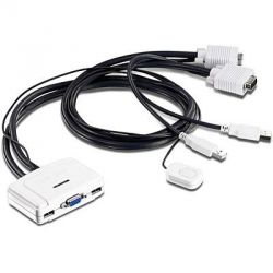 TRENDnet 2-port USB KVM Switch   Bild0