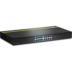 TRENDnet 16-Port 10/100Mbps PoE (125W) Switch Bild0