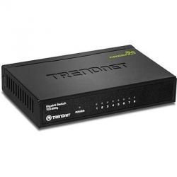 TRENDnet 8-Port Gigabit GREENnet Switch matal case Bild0