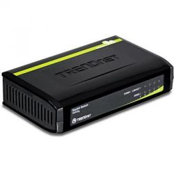 TRENDnet 5-Port Gigabit GREENnet Switch   Bild0