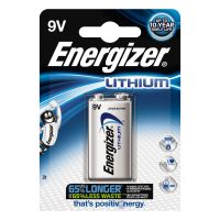 Energizer Ultimate Lithium Batterie 9V Block 1604D 6LR61 FSB1 1er Blister