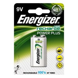 Energizer Power Plus Akku 9V Block 1604D HR22 FSB1 1er Blister Bild0