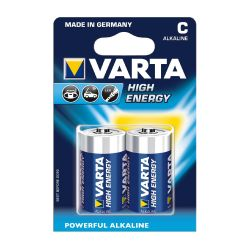 VARTA High Energy Batterie Baby C LR14 2er Blister Bild0