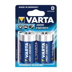 VARTA High Energy Batterie Mono D LR20 2er Blister Bild0