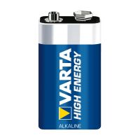 VARTA High Energy Batterie 9V Block 1604D 6LR61 einzeln