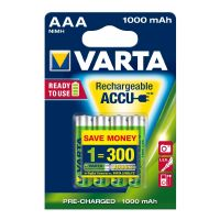 VARTA Ready2Use Akku Micro AAA HR3 4er Blister (1000 mAh)