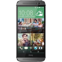 HTC One M8 gunmetal gray Android Smartphone Bild0