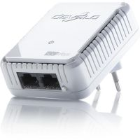 devolo dLAN 500 duo (500Mbit, Powerline, 2xLAN, Netzwerk, Slim-Design)