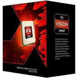 AMD FX-9370 (8x 4.4GHz) 8MB Black Edition (Vishera) Sockel AM3+ BOX CPU Bild0